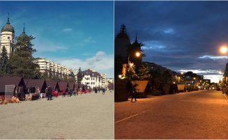 Bulevardul Ștefan cel Mare și Sfânt – între noapte și zi