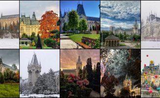 Palatul Culturii în 100 de imagini. Povestea edificiului simbol al Iaşului